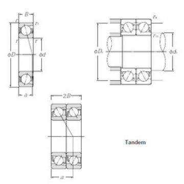 65 mm x 120 mm x 23 mm  CYSD 7213CDT angular contact ball bearings