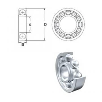 50 mm x 110 mm x 27 mm  ZEN 6310 deep groove ball bearings