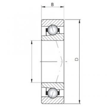 ISO 71906 A angular contact ball bearings